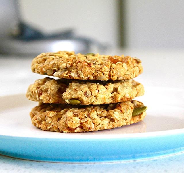 Dietetyczne ciasteczka owsiane. Bez glutenu, bez jajek, bez mleka i drożdży