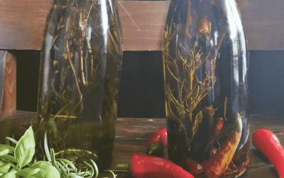 Oliwa i oleje ziołowe. Konieczność w każdej zdrowej kuchni!
