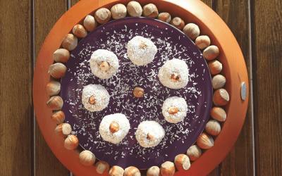 Wegańskie kulki kokosowe a'la Rafaello. Bez jajek, mleka i glutenu